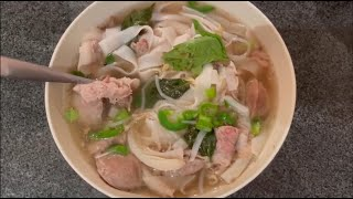Vietnamese Beef Noodle Soup (Phở Bò or Phở Đặc Biệt) Recipe - Step by Step!