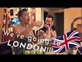 Surprising my boyfriend with a trip to LONDON!!!