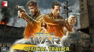 War Movie Official Trailer Announcement | Hrithik Roshan, Tiger Shroff, Vaani Kapoor