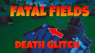 Fortnite | Fatal Fields Knife and Fork | Death Glitch Trolling