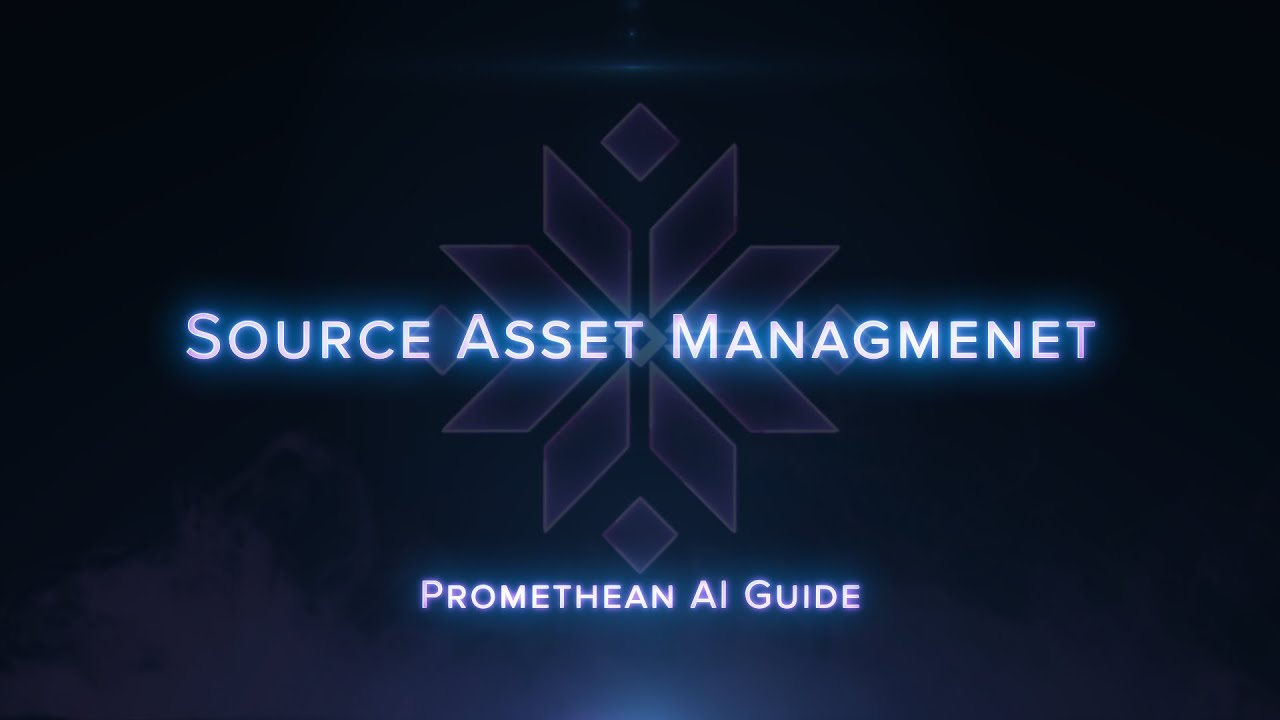 Promethean AI Guide: Source Asset Management and Cloud Sharing