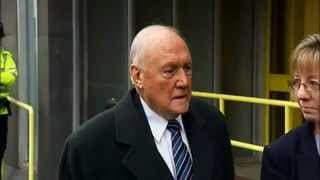 Breaking News :Stuart Hall In Court Denies Child Sex Abuse Charges. Jan 13