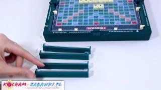 Scrabble Travel Game / Gra Scrabble Podróżne - Mattel - 52495