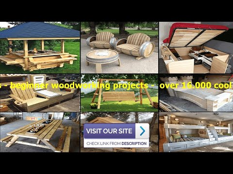 wood projects - beginner woodworking projects -  over 16.000 cool wood projects