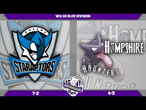 [NPA S2W11 Battle] Dallas Staraptors VS Hampshire Haunters! Live ORAS Wifi Battle!