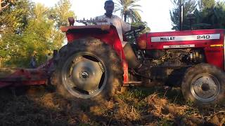 Working Tractor - Village Life in Punjab New Video (2017)