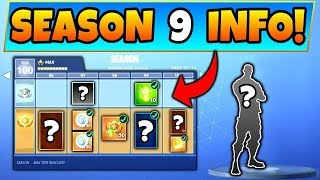 *CONFIRMED* SEASON PASS 9 WILL BE FREE!! | Fortnite Leaks Season 9