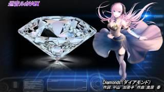 プリンセス・プリンセスの「Diamonds(ダイアモンド)」を巡音ルカでカバ...