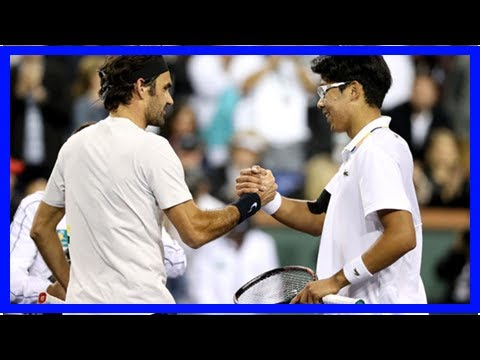 Hyeon Chung makes Roger Federer admission following Indian Wells defeat