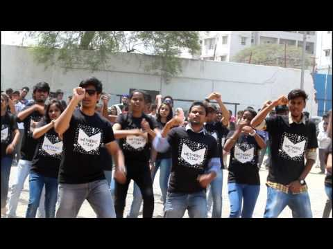 Metheric Utsav 2k17 Flash Mob  Mcet  Fest  2k17