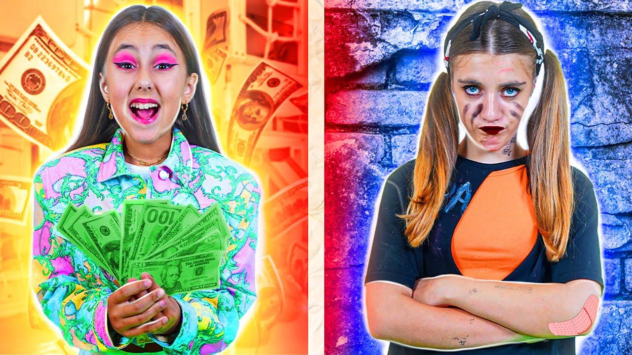 Хорошая Богатая Девушка vs Плохая Бедная Девушка в Школе  Смешные Ситуации