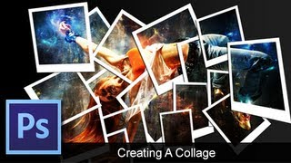 Adobe Photoshop CS6 - [How To] [Create a Collage] [Collage Effect]