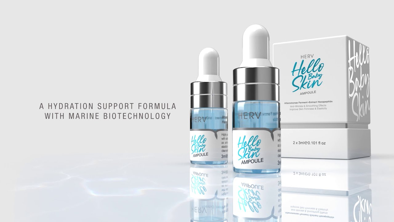 Download HERV™ Commercial   HERV Hello Baby Skin ( Ampoule )