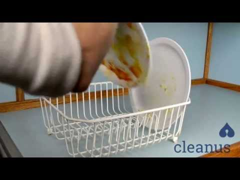 Cleanus Bum Wash | Using Paper Towels to Clean Your Dishes