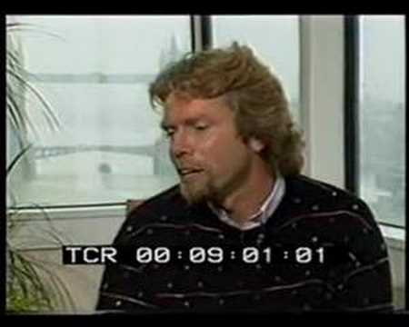 Richard Branson - Talks about music and drugs