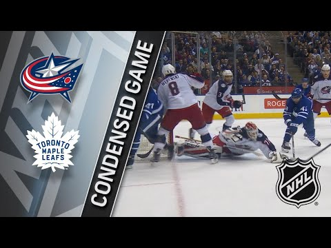 01/08/18 Condensed Game: Blue Jackets @ Maple Leafs