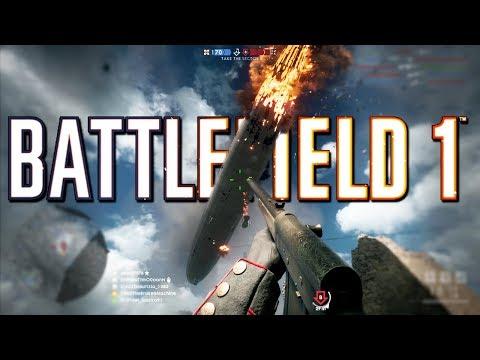 Battlefield 1: Aggressive Medic 133 Kills - 4K PS4 PRO Multiplayer Gameplay