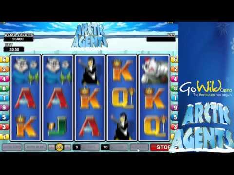Arctic Agents Slot Game [GoWild Casino]