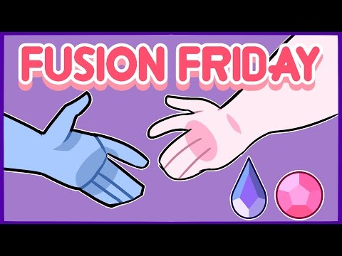 Fusion Friday| Rose Quartz/Holly Blue | Speedpaint …