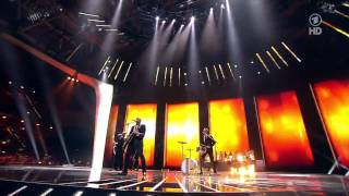 "Stefan Raab Ft. Lena - ""Satellite"" Rock-Version with BigBand // ESC 2011 Opening"
