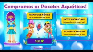 PK XD - Atualização de FÉRIAS! Compramos todos os itens do pacote Aquático!!!