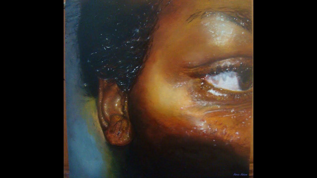 How to Paint Dark Skin Tones  Oil Painting People of