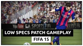 FIFA 15 - Ragnos1997 Low Specs Patch Gameplay