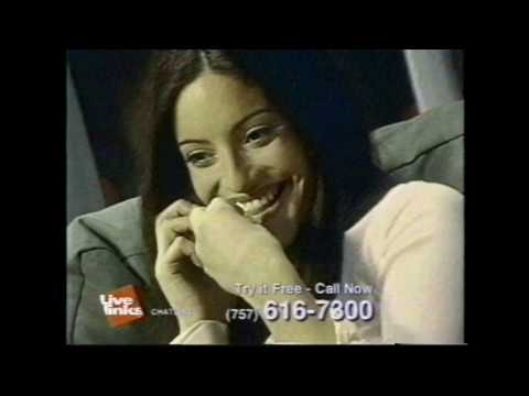 Live Links Chat Line Try It Free Commercial (2002)