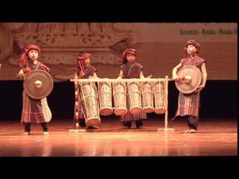 SUMATERA UTARA - Festival Nasional Musik Tradisi Anak-Anak 2014 by MAM EO