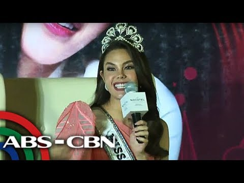 Miss Universe 2018 Catriona Gray is back in PH | 20 Feb 2019