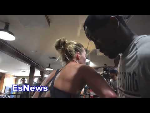 Mikaela Mayer beast in ring EsNews Boxing