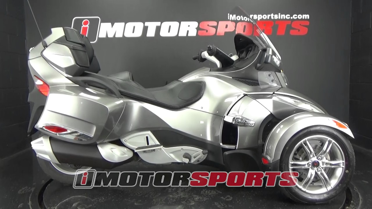 2011 can am spyder rt s semi automatic a3119 imotorsports