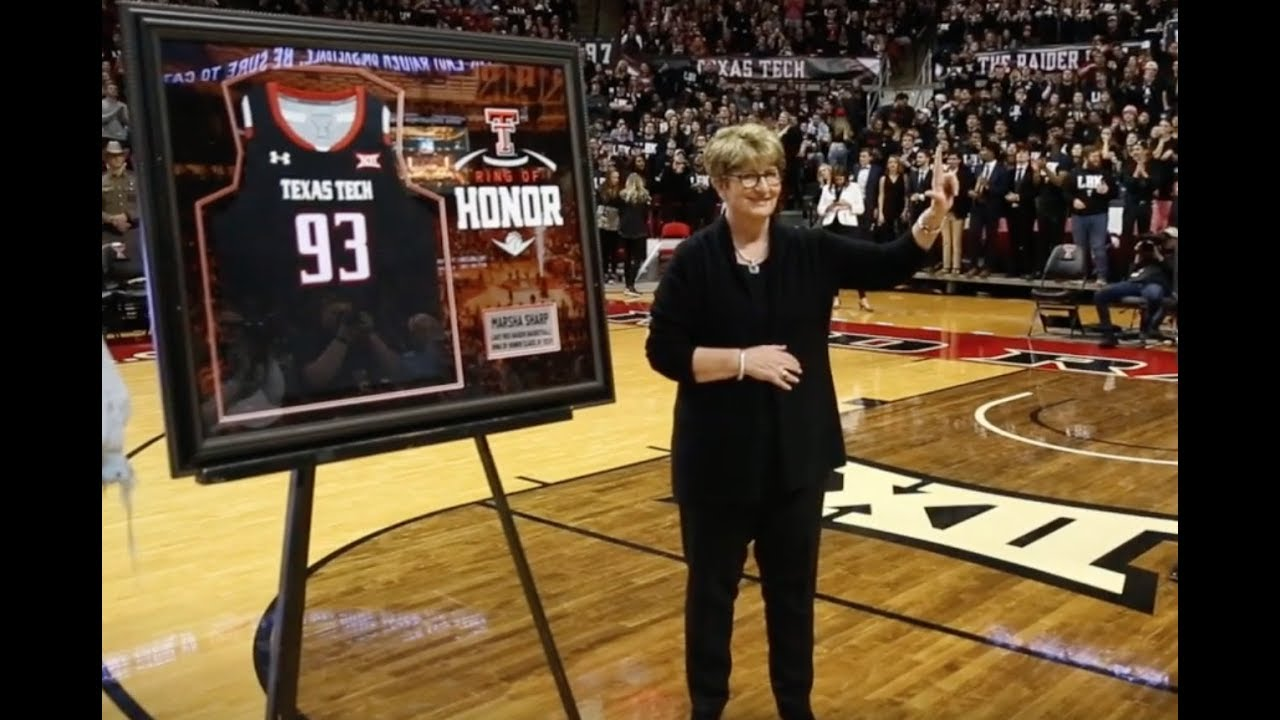 786a7823db4 Marsha Sharp, Sheryl Swoopes & More Inducted Into Texas Tech Ring of Honor