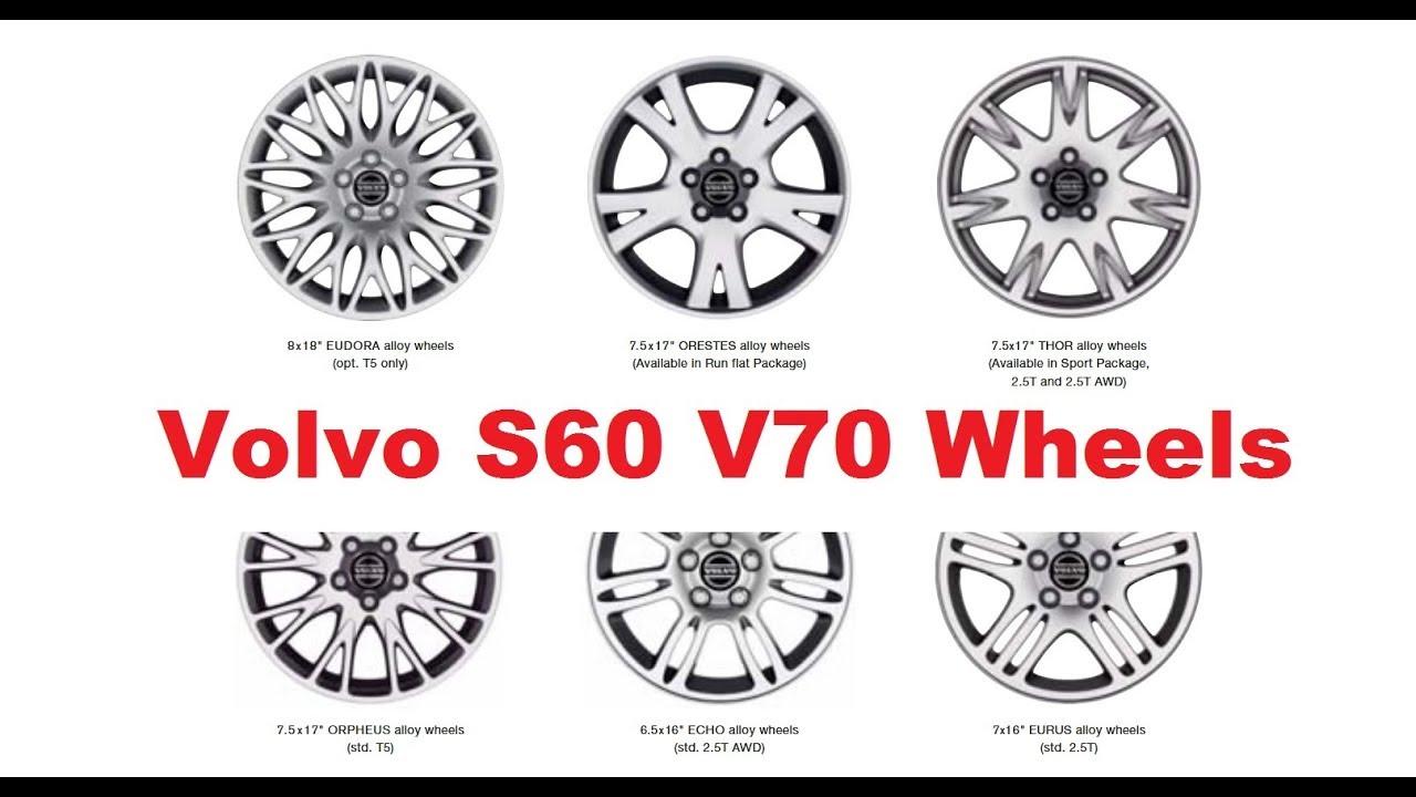 Volvo S60 V70 Wheel Options 2001 2009 Youtube