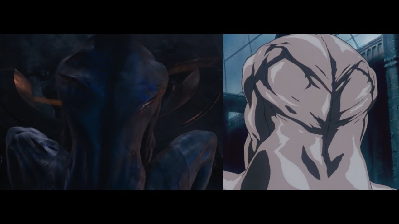 Tank Rip Scene Ghost In The Shell 2017 1995 Youtube