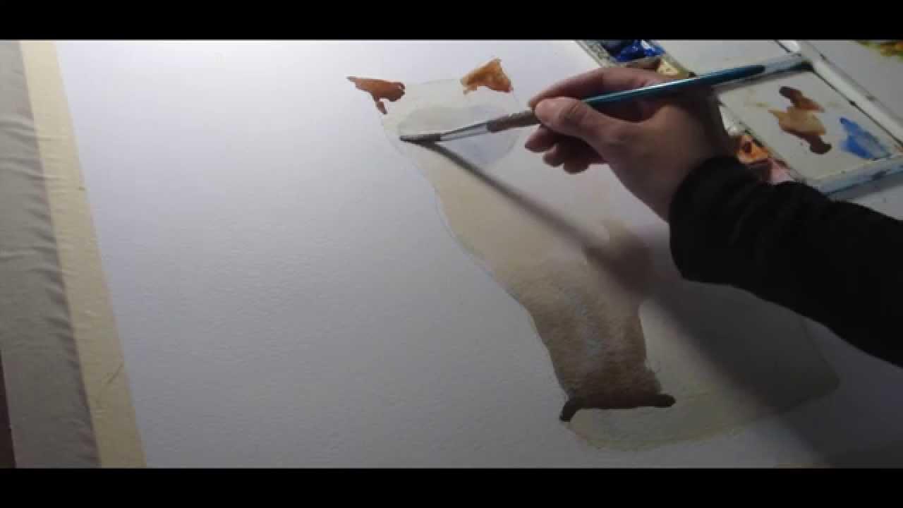 Como pintar acuarela como pintar un gato en acuarela 3 - Como pintar un radiador ...