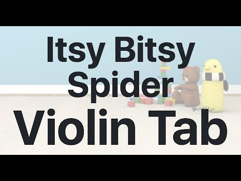 Learn Itsy Bitsy Spider on Violin - How to Play Tutorial