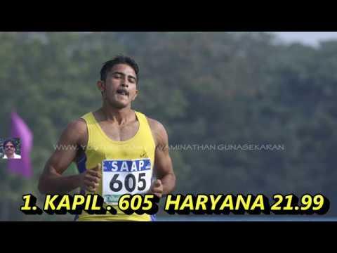 BOYS 16 200m Run /  HARYANA'S KAPIL GETS THE GOLD AT JNA-2019