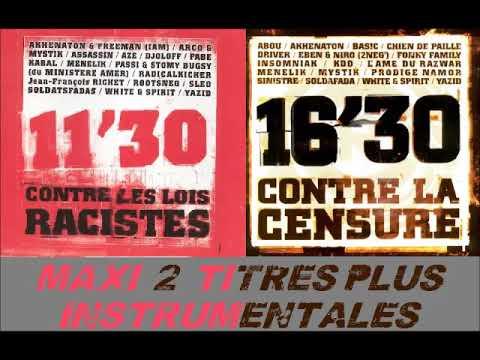 11'30 Contre Les Lois Racistes / 16'30 Contre La Censure - 1998 (MAXI)