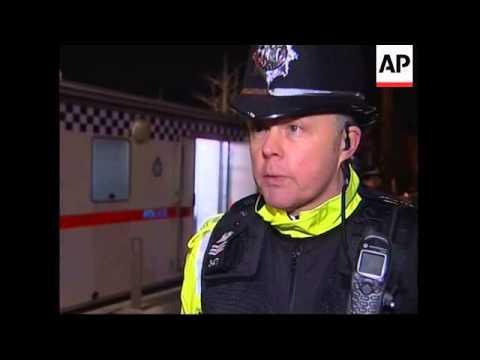 Police on night patrol around red light areas
