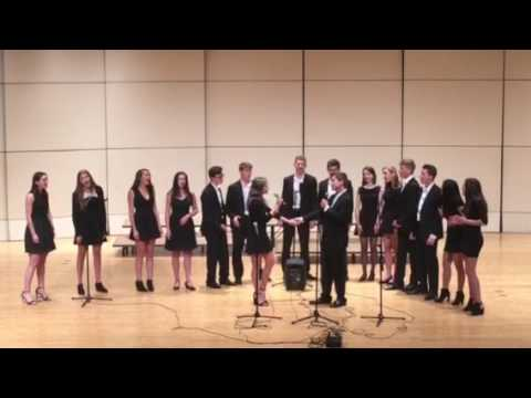 EA Vocal Ensemble Singing Disney Love Medley