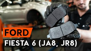 Fitting Brake pad set disc brake FORD FIESTA VI: free video