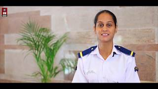 CU student bags All India best girl Navy Cadet Accolade