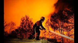 أخبار عالمية | ارتفاع درجات الحرارة يسبب انتشار #الحرائق