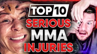 10 MMA Fighters who got SERIOUSLY Hurt (Part 3)