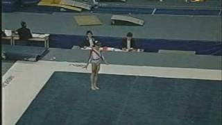 Monica Rosu 2002 Jr. Europeans Floor
