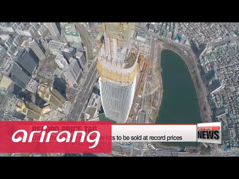 Lotte World Tower residential lots to be sold at record prices