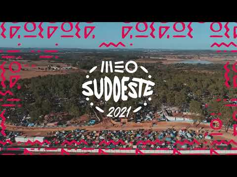 MEO Sudoeste 2021 - Cartaz