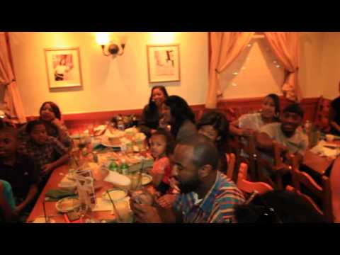 OLIVE GARDEN TAKE OVER!! The Best Happy Birthday Song I've Ever Heard