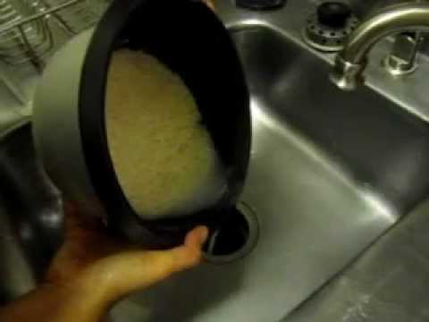 How to clean rice before start cooking